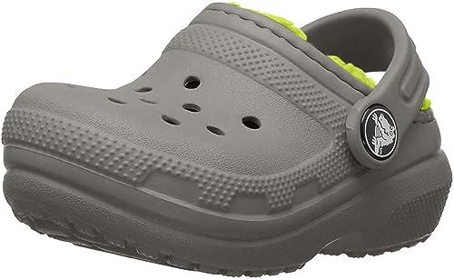 8 M US Toddler Crocs Kids Classic Clog Slate Grey