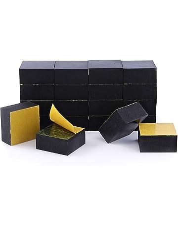 Bases invisibles de goma Pot-up para elevar macetas y otros recipientes, de forma