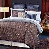 Tommy Hilfiger Shelburne Paisley Cotton Comforter Set, Twin(Old Pattern)