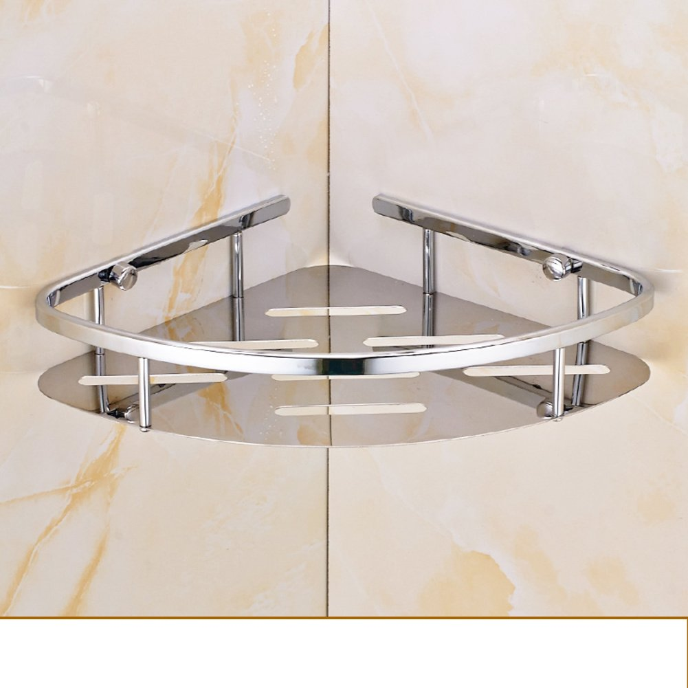 high-quality Stainless steel racks/ four square corner blue/ basket rack/Bathroom Bathroom Storage rack-M