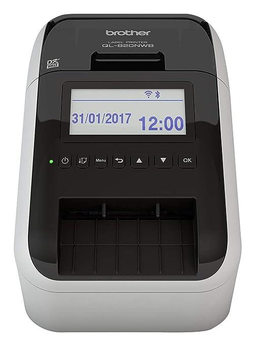 Brother QL-820NWBYU - Impresora de etiquetas: Amazon.es ...