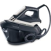 Rowenta Powersteam VR8220F0 - Centro planchado 6,5 bares de presión de agua autonomía ilimitada, golpe de vapor 350 g/min, vapor continuo 120 g/min, autoapagado, cartucho antical, rápido calentamiento