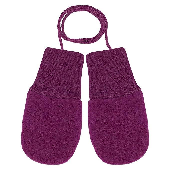 Amazon.com: Manoplas para bebé sin dedos: guantes de lana de ...