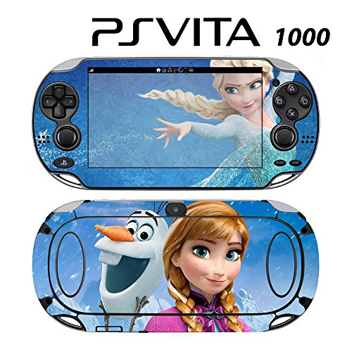 Decorative Video Game Skin Decal Cover Sticker for Sony PlayStation PS Vita (PCH-1000) - Frozen 3 -  Decals Plus, PV1-DI20E
