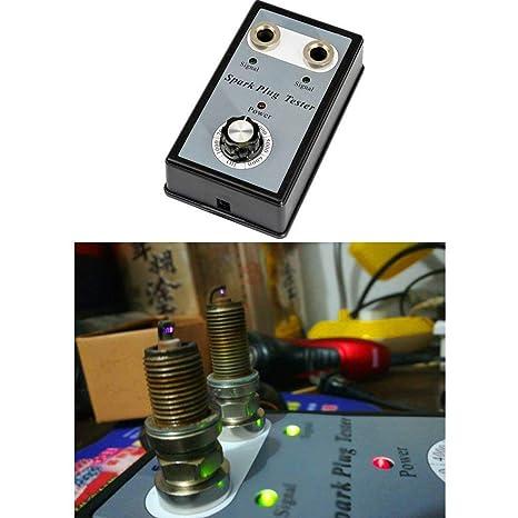 Gugutogo Probador de bujías Sistema de Encendido automático Motor Herramienta de Prueba de diagnóstico en línea