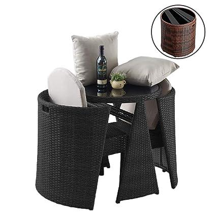 Rattann Garden Lawn Sofa Furniture Casual Juego de ...