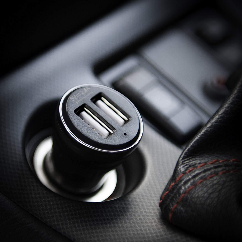 E2122 E570 Compatible with Samsung E350 Monte Slider E2550 E1230 GT-E1230 E740 E590 Double USB Port Phone Adapter E420 E1200 GT-E1200 in Car Charger E1150 F480 Tocco M100 E390