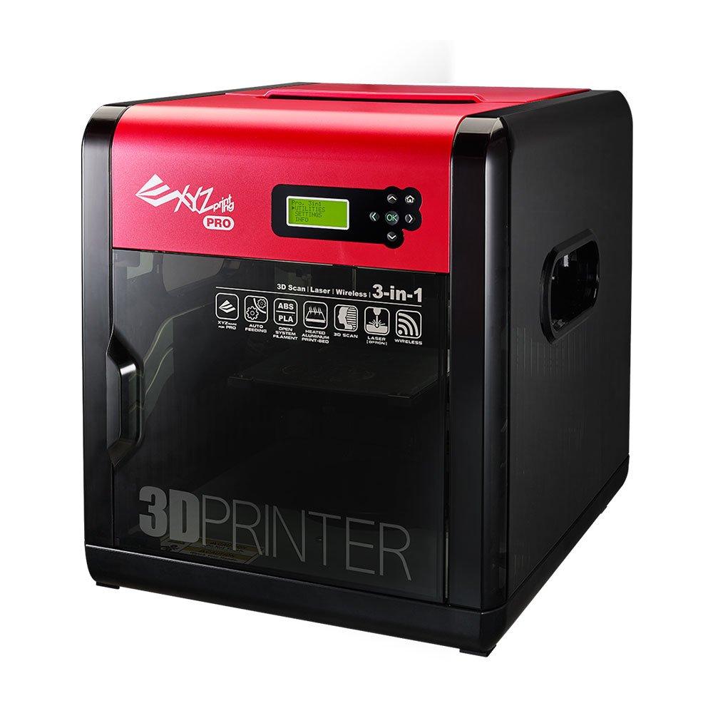 XYZ Printing Impresora 3D da Vinci 1.0 Pro 3-en-1 (impresión 3D, escaneo 3D, grabador láser opcional)