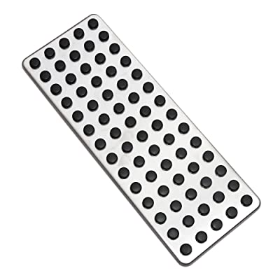9 MOONStainless Steel Footrest Foot Rest Dead Pedal Pad Cover For Mercedes Benz A B C E S CLS SLK CLA GLA GLK ML G GL Series Car Styling: Automotive