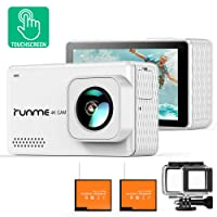 Deals on Runme R3 4K Action Camera Touch Screen 16MP Wide Angle