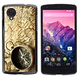 YOYOSHOP [Compass & Map] LG Google Nexus 5 Case by icecream design