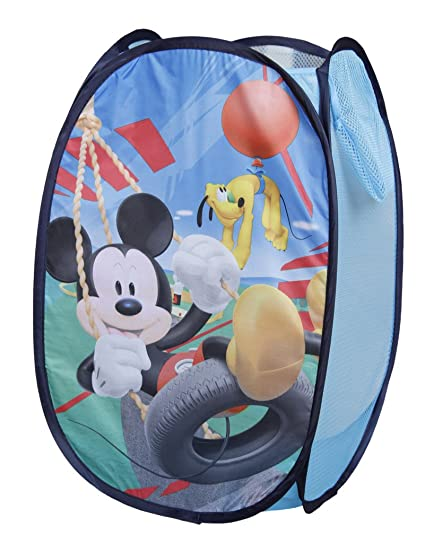 Disney Mickey Mouse Smiles Pop Up Hamper Bedroom Decor