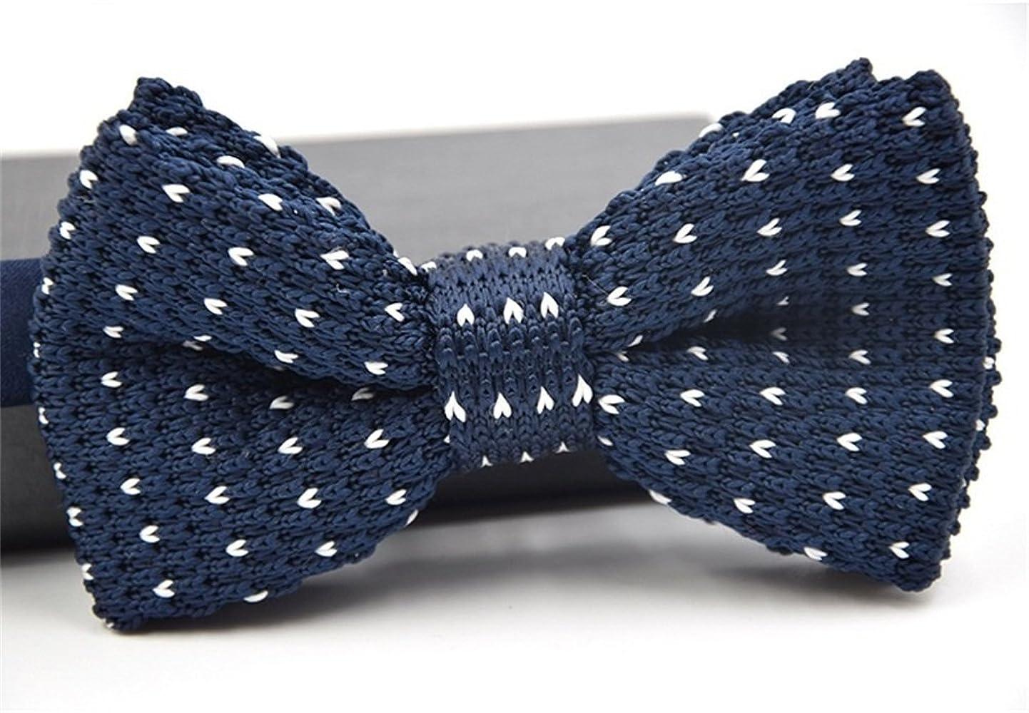 Huyizhi Los hombres del corazón estampado corbata de lazo que hace ...