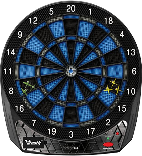 Viper Vtooth 1000 EX Bluetooth Enabled Electronic Soft Tip Dartboard by Viper by GLD Products