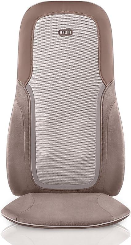 Amazon.com: HoMedics, Quad Shiatsu Pro Cojín de masaje con ...