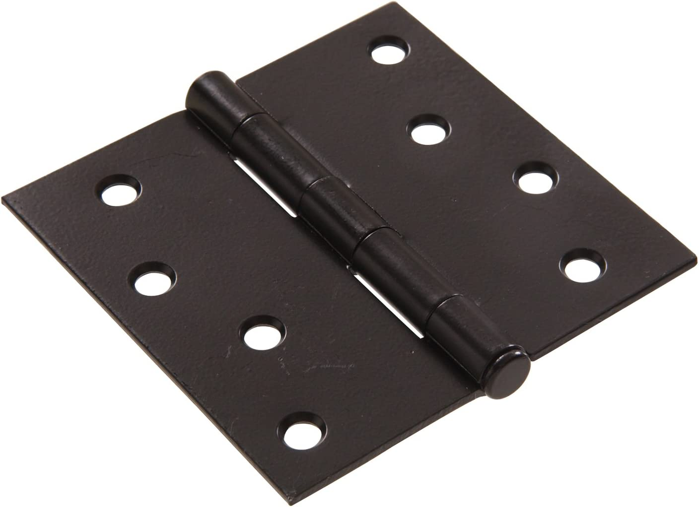 Hillman Hardware Essentials 851286 Residential Square Corner Door Hinges with Removable Pin White 3 2-Pack