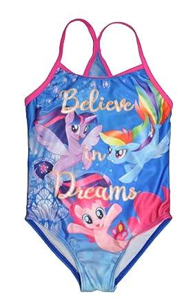 6e2f44ec85fd2 Amazon.com: My Little Pony Little Girls One Piece Swimsuit: Clothing