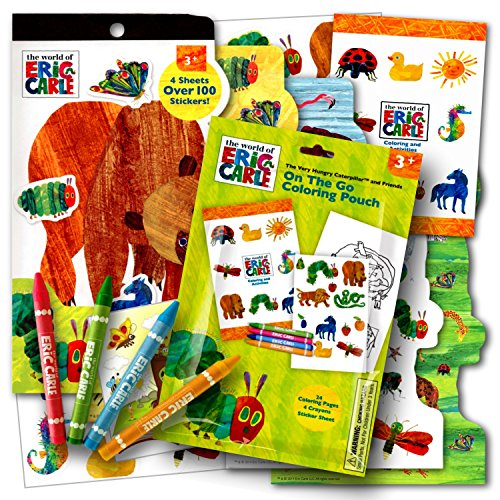 Eric Carle Coloring Activity Stickers