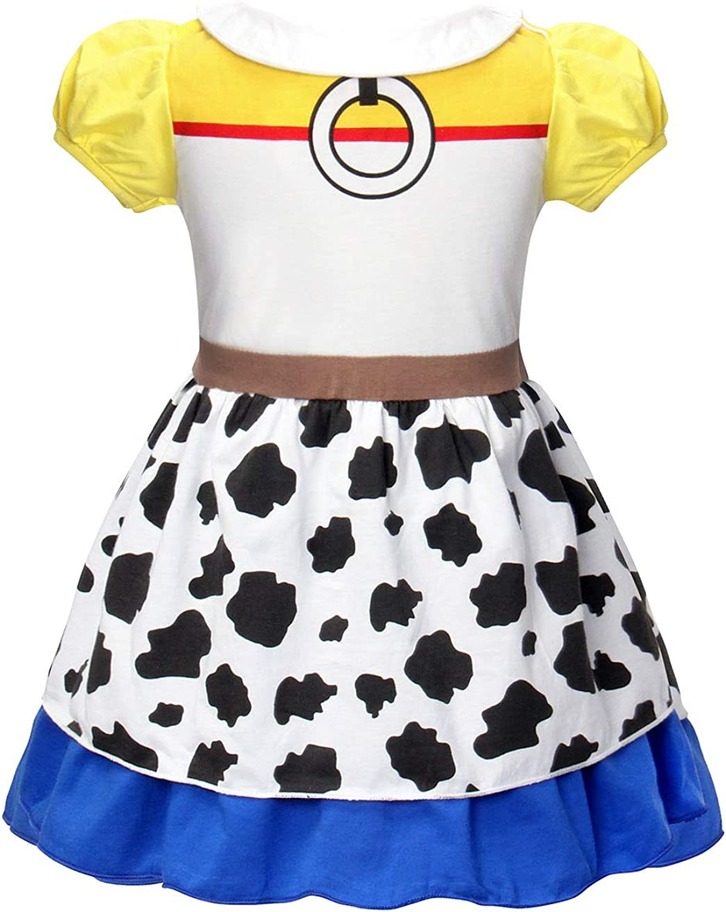 AmzBarley Girls Costumes Fancy Party Halloween Dress Up Kids Holiday Birthday Outfit Dresses 1-9 Years