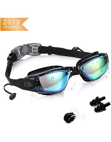 ee8c5c45b KAILH Gafas de Natación, Antiniebla Gafas Natacion, Protección UV sin  Fugas, Gafas para