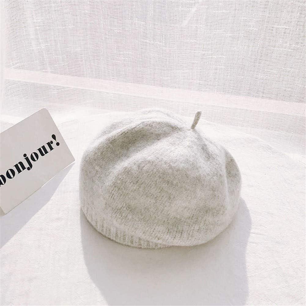 f/ür Damen wilde Farbe frisch gestrickt M/ütze Ardent K/ürbis Hut Jeansblau Einheitsgr/ö/ße Herbst und Winter japanische Wolle