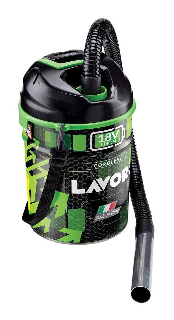Lavorwash 8014211947971 Bidone Aspiracenere 18V-2,2Ah'Free Vac 1.0', Multicolore