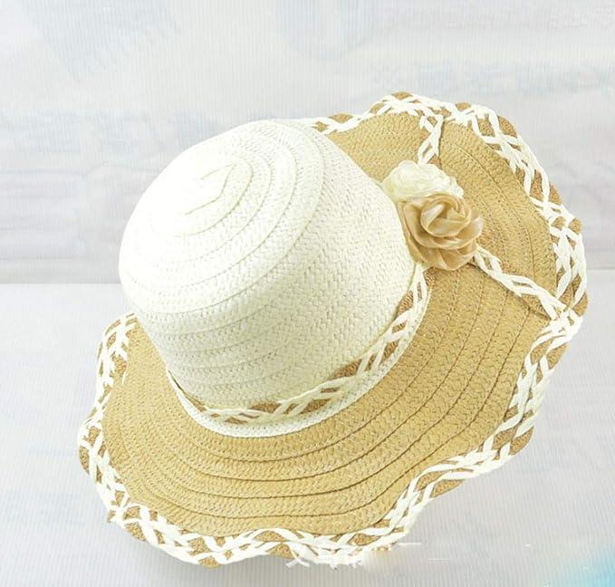 Sombrero para el Sol de ala Ancha para Mujer, Playa de Playa, Todo ...