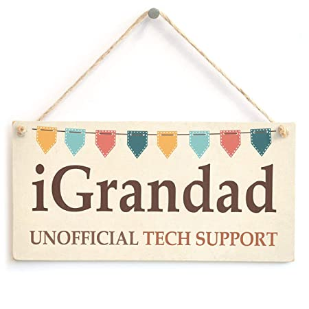 Mr.sign Igrandad Unofficial Tech Support Cartel de Pared ...