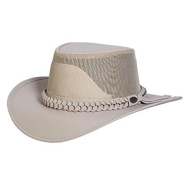 5c0bd24ac Conner Hats Men's Aussie Golf Soakable Mesh Hat, Sand, M