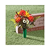 Fall Memorial Bouquet by OakRidgeTM Outdoor