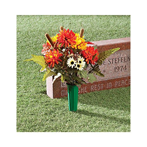 Fall Memorial Bouquet by OakRidgeTM Outdoor (Outdoor Fall Displays)