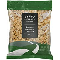 Genoa Foods Peanuts Roasted Unsalted, 600 g, Peanuts Roasted Unsalted