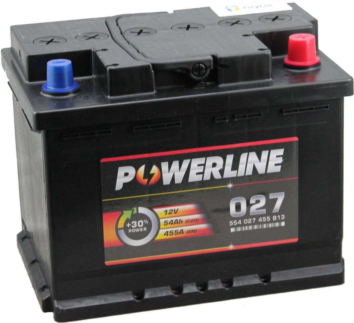 027 Powerline Batterie de Voiture 12V