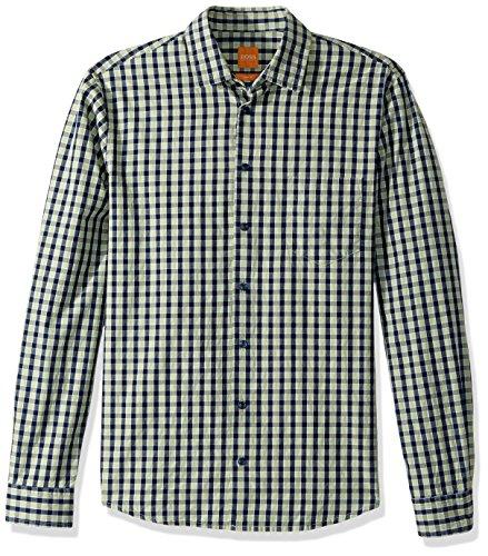 BOSS Orange Men's Epop 10197953 01, Blue, M Boss Mens Clothing