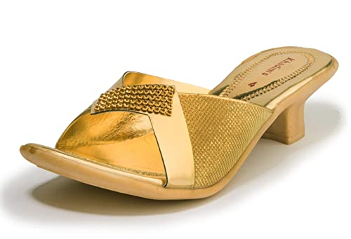 2310fb461e477 Khadims Women Ethnic Mule Sandal  Buy Online at Low Prices in India ...