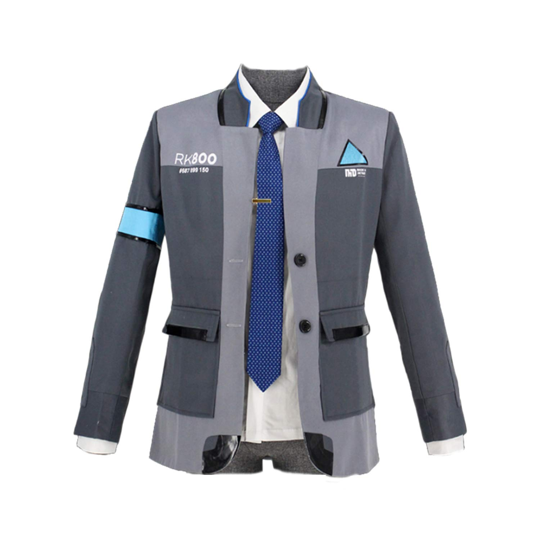 ValorSoul Men's Cosplay Costume Jacket Cosplay Costume Men Coat Uniform Suit (L, Women Coat)