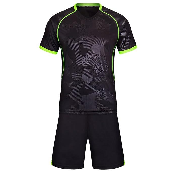 reputable site 91f60 8bb74 Amazon.com: XFentech Child Match Training Uniforms Men's ...