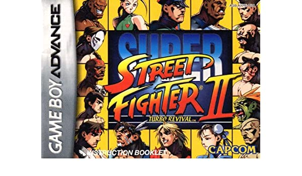 Super Street Fighter II Turbo Revival GBA Instruction Booklet (Game Boy Advance Manual only) (Nintendo Game Boy Advance Manual): Amazon.com: Books