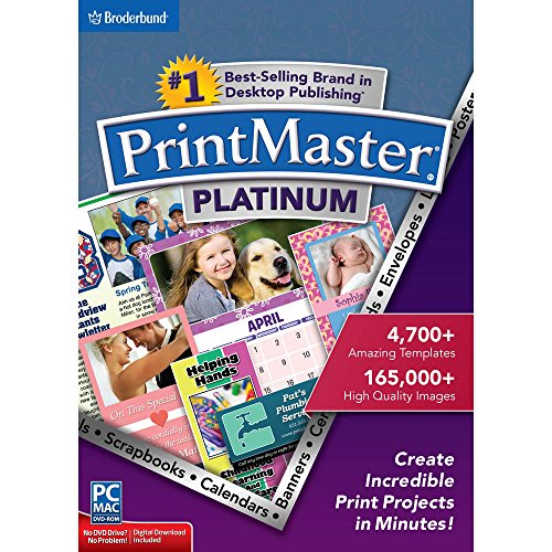 Encore PrintMaster v7 Platinum 7.0 (Software Publishing Home)