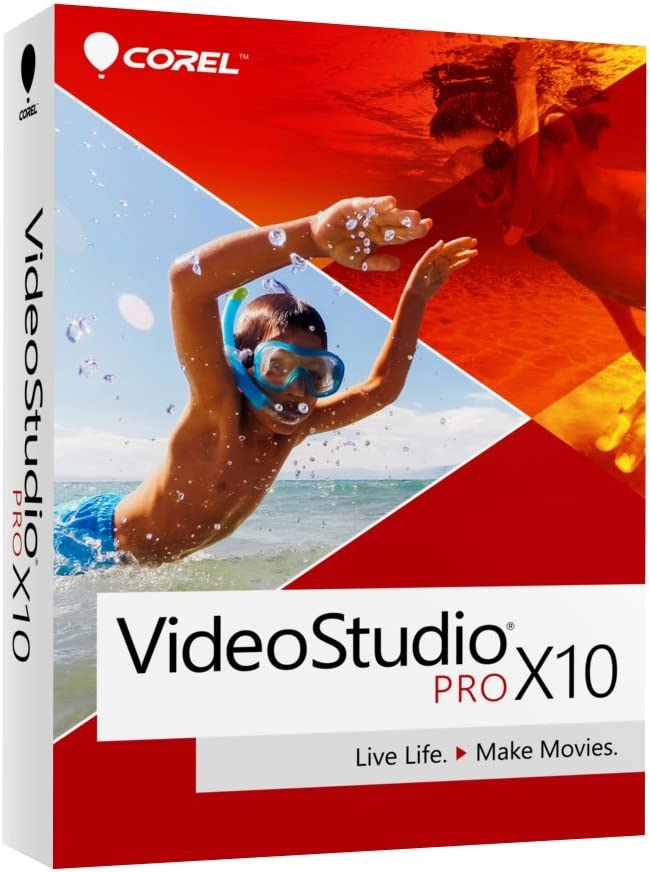 Corel VideoStudio Pro X10 Video Editing Suite for PC (Old Version)