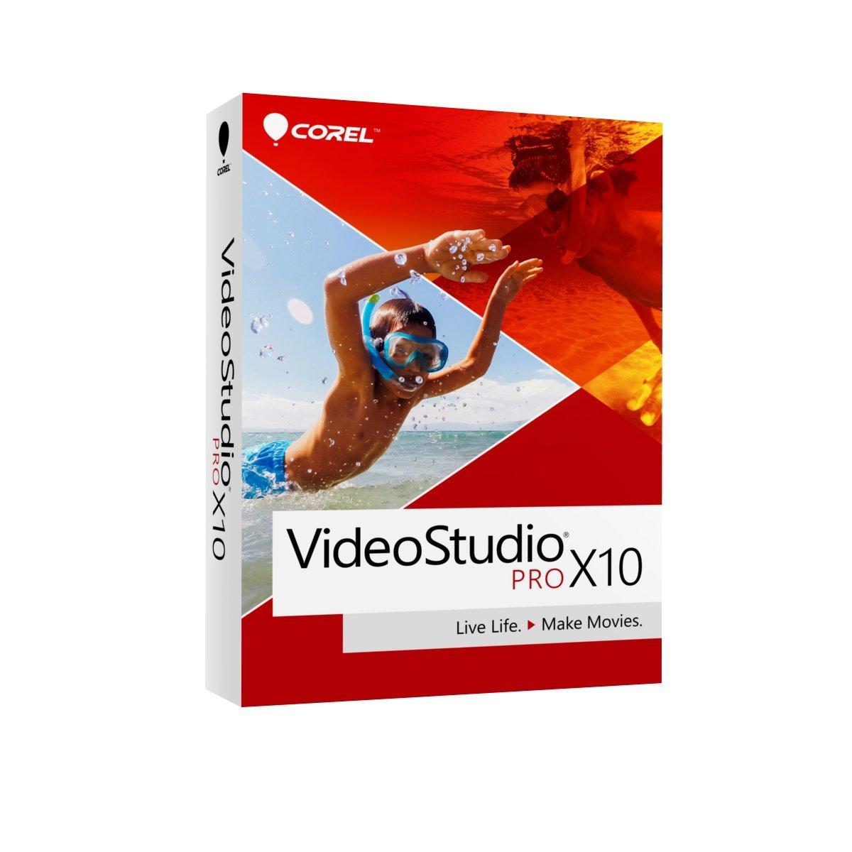 Corel VideoStudio Pro X10 Video Editing Suite for PC