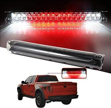 Amazon Com Led 3rd Brake Lights Cargo Lamp Assembly Automotive Tail Light Smoke Lens Fit For 1997 2003 For Ford F 150 2004 For Ford F 150 Heritage 1998 1999 For Ford F250 2002 For Lincoln Blackwood Automotive