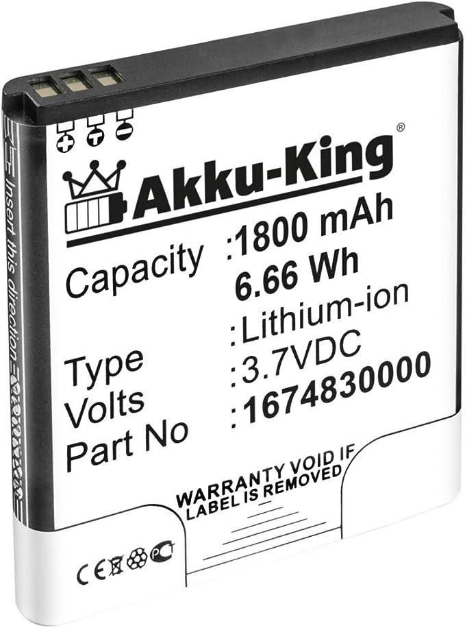 Akku King Akku Kompatibel Mit Falk Ibex 25 Ibex 32 Elektronik