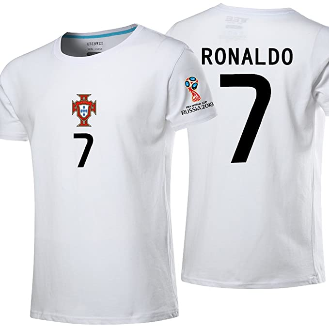 766995c8 Bigfoot sports Portugal Away Shirt 2018 World Cup Short Sleeve Cristiano  Ronaldo#7 (XXL