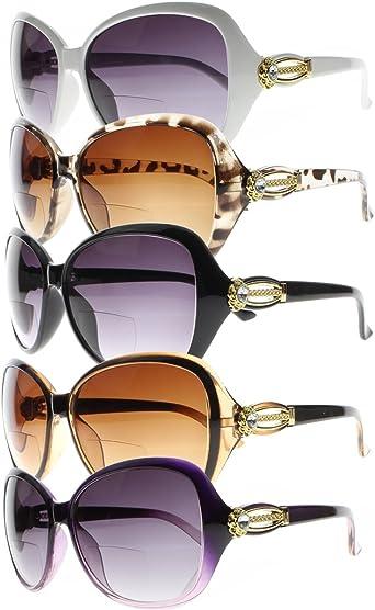 Bifocal Sunglasses SUN Reader Reading Glasses Grey Gradient Lens 1.0 2.0 3.0 4.0