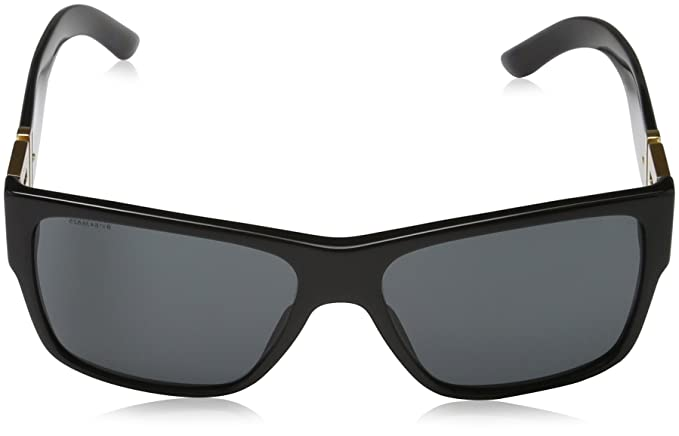 Versace Mens VE4296 Sunglasses Black/Gray 59mm
