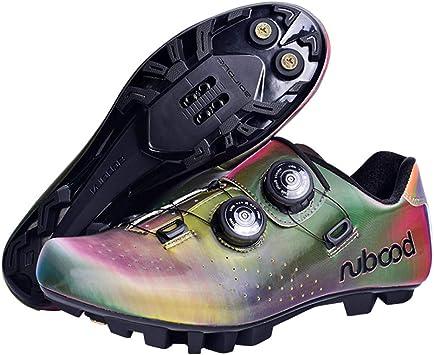 Zapatillas De Bicicleta De Montaña, Hombre Calzado con Sistema De ...