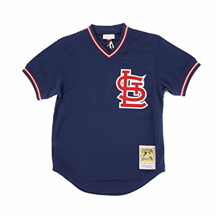 new style 81c65 3d346 Amazon.com : Mitchell & Ness Willie McGee St. Louis ...