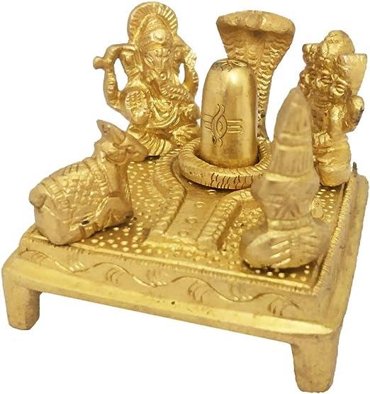 Goddess Parvati Marble Statue Antique Handmade India Shiva Ganesha Temple Hindu
