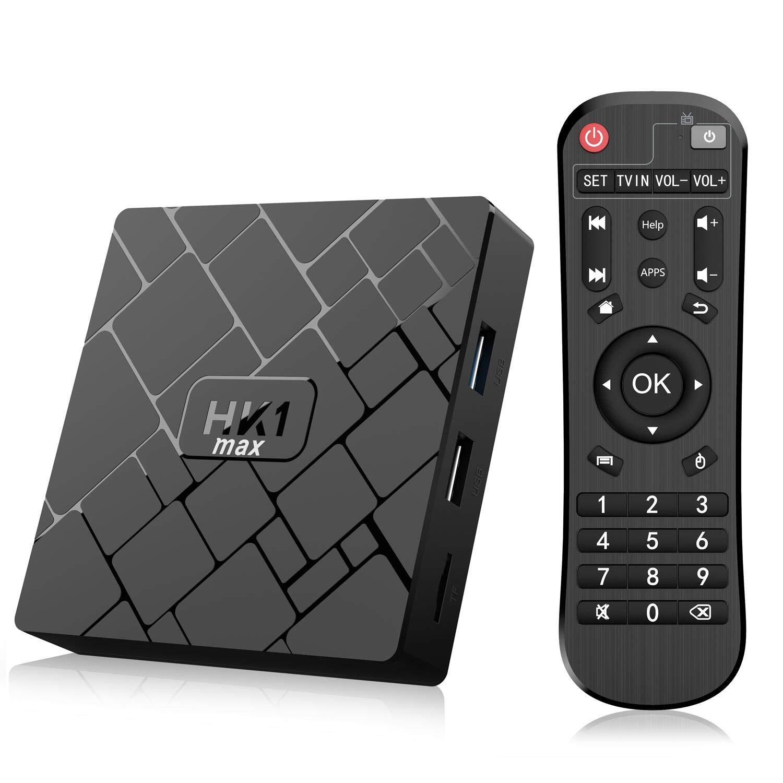 Android 8.1 TV Box- Bqeel TV Box 4GB+64GB RK3328 Quad-Core 64bit Cortex-A53 con Dual-WiFi 2.4GHz/5GHz, BT 4.0, 4K*2K UHD H.265, HDMI, USB 3.0 Smart TV Box